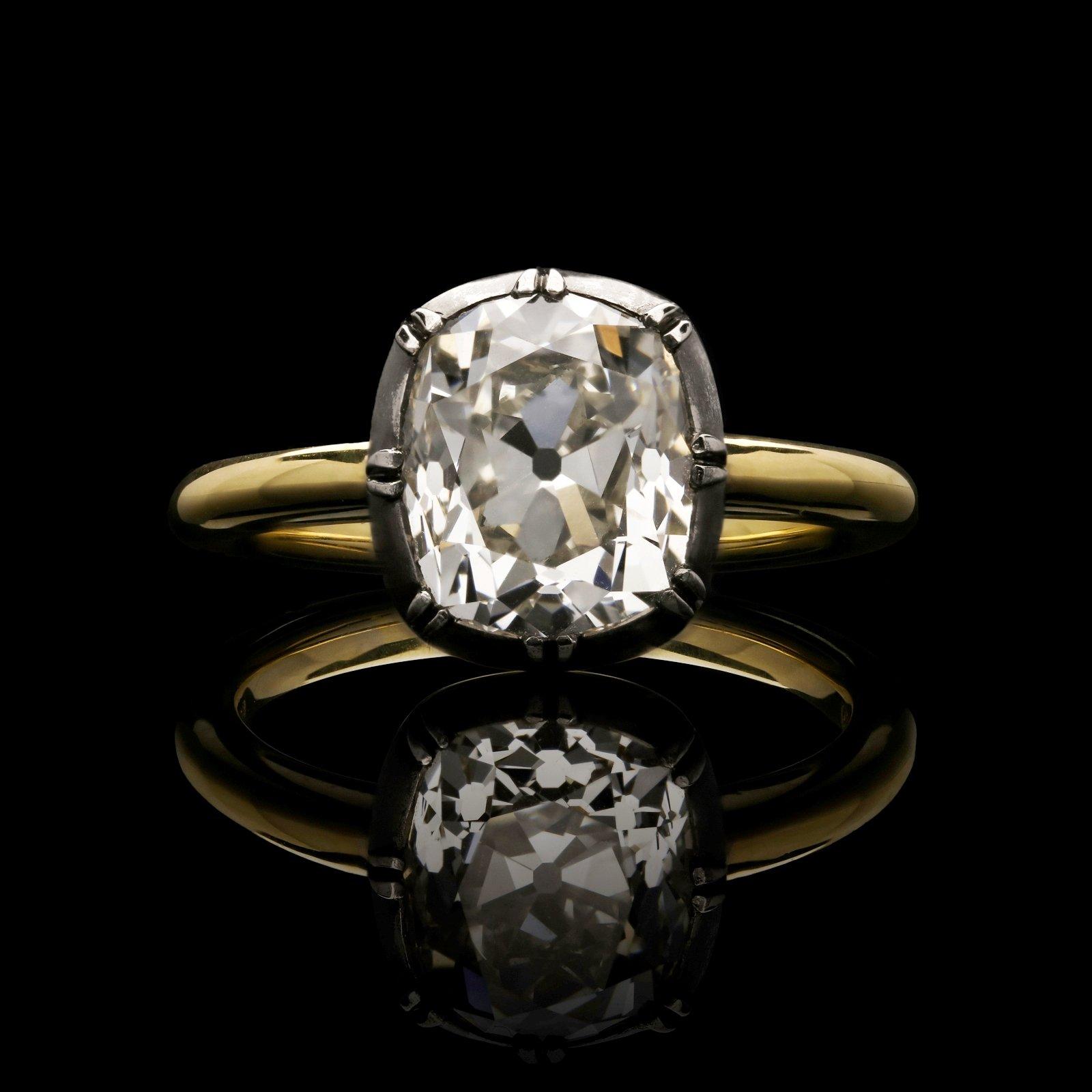 Old Mine Brilliant Cut Diamonds