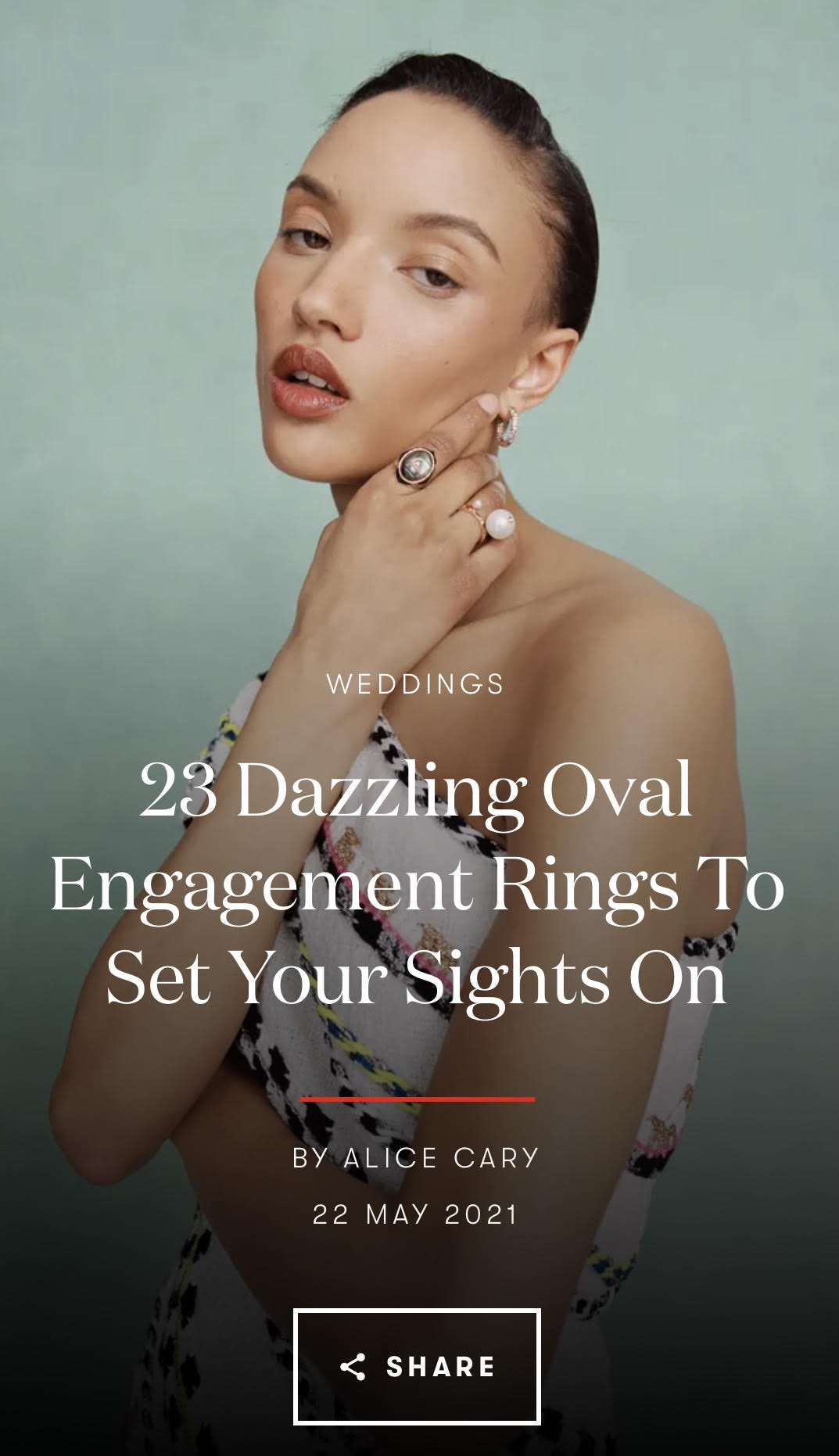 THE TIMELESS APPEAL OF THE CLASSIC OVAL ENGAGEMENT RING